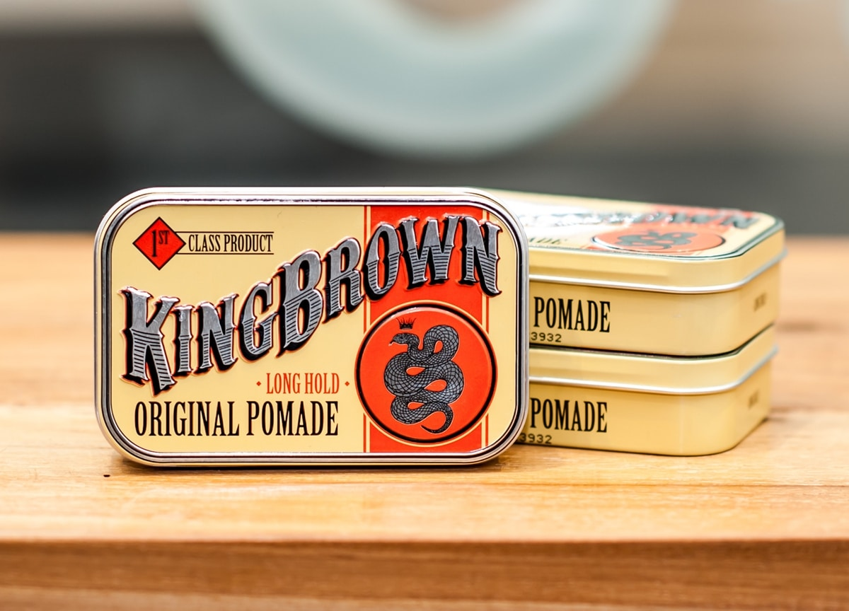 King Brown Pomare The Mirall Distributions Pomade Share